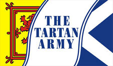 THE TARTAN ARMY 5X3 FLAG SCOTLAND GLASGOW EDINBURGH SCOTTISH SCOTS