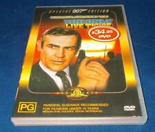 YOU ONLY LIVE TWICE DVD SPECIAL EDITION 007 JAMES BOND SEAN CONNERY