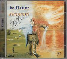 LE ORME elementi CD 2001 cover by Paul Whitehead AUTOGRAFATO da TAGLIAPIETRA