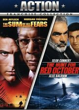 Hunt for Red October/Sum of All Fears (2011, DVD NEUF)2 DISC SET