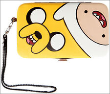 Adventure Time Finn Jake Hinge Hinged Padded Purse Wallet iPhone 4/4S Cover Case