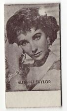 Spanish Weighing Weight Machine Card Anonymous issuer UK Actress Liz Taylor