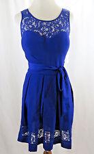 Blue Womans Dress  Size 6-8 # G  155(NO SIZE LABEL)