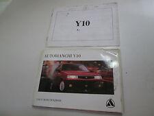 Manuale uso e manutenzione Autobianchi Y10 Edizione 1995   [3289.14]