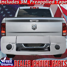 2009-2016 DODGE RAM 1500 Triple Chrome Tailgate Handle Cover With Camera Hole