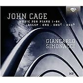 CAGE - MUSIC FOR PIANO VOL4 NEW & SEALED