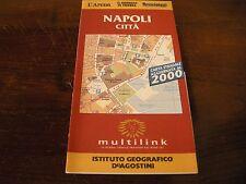 NAPOLI - CARTINA STRADALE - De Agostini - Anno 2000