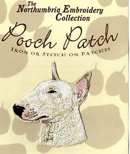 English Bull Terrier EMBROIDERED  Pooch Patch