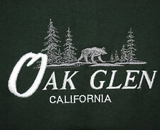 Oak Glen CA Preserve Forest Wildlands Conservancy Bear Apple Orchards T-Shirt L