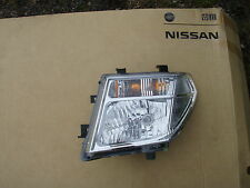 2005 - 2010 NISSAN NAVARA / PATHFINDER D40 N/S LEFT PASSENGER HEADLIGHT GENUINE