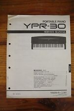 Yamaha Portable Piano YPR-30 Service Manual