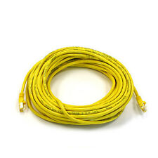 50FT Yellow High Quality Cat6 550MHz UTP RJ45 Ethernet Bare Copper Network Cable