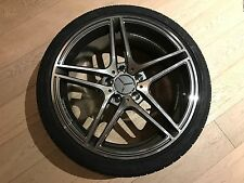 "19"" AMG GUNMETAL RIMS 4 SET WHEELS MERCEDES BENZ SLK SLK320 SLK350 SLK500 MAGS"