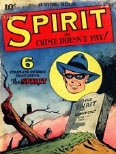 THE SPIRIT COMICS GOLDEN AGE COLLECTION PDF FORMAT CD