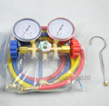 New Refrigeration Air Conditioning AC Diagnostic Manifold Gauge Tool Set SN