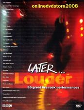 LATER... LOUDER (Jools Holland) UK TV SHOW - LIVE MUSIC DVD (NEW SEALED)