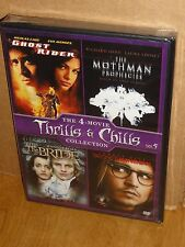 Thrills & Chills Vol 5 (4-DVDS) The Bride, Ghost Rider, The Mothman Prophecies..
