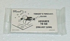 Monopoly Sun Moon Cards Chance Community Chest Astronomy Board Game NEW Sealed