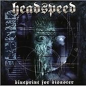 Headspeed - Blueprint For Disaster CD mint metal
