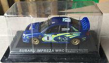 """DIE CAST """" SUBARU IMPREZA WRC NEW ZEALAND RALLY - 2003 """" RALLY DEA SCALA 1/43"""