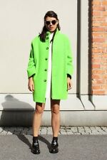 One time worn ACNE CHARTREUSE jacket womens size S