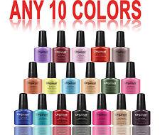 LOT 10 Vernis à ongle semi permanent Gel UV LED  Manucure cosmétique séchoir