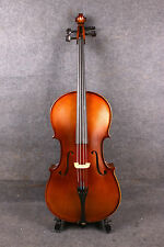 new acoustic Model 1/2 cello Rich Sound Hand Carve Solid wood Maple spruce