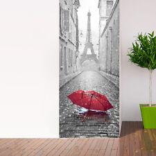 Red Umbrella 3D Wall Sticker Decal Art Decor Vinyl Home Room Window Door Mural