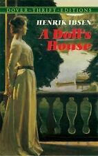 A Doll's House (Dover Thrift), Henrik Ibsen, Very Good condition, Book