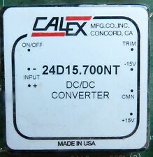 NEW CALEX 24D15.700NT DC/DC PCB MOUNT CONVERTER DUAL OUTPUT ISOLATED DC TO DC