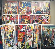 AGE OF APOCALYPSE CoMpLeTe Collection (VF Range)•40 Total Issues•I Mean Complete