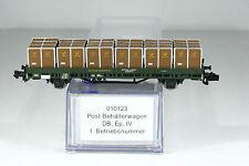 Hobbytrain 010123 Post Behälterwagen der DB, Ep.IV,  KKK, Top,  OVP