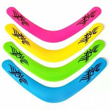 Large 40cm Bright Neon Colour Boomerang Toy - Sold Individually Outdoor Summer