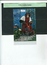 P704 # MALAYSIA USED PICTURE POST CARD * MONKEY ON BICYCLE