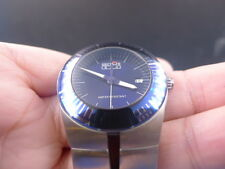 New Old Stock SECTOR 880 Sapphire Crystal Date Swiss Quartz Boy Size Watch