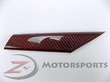 Ducati 848 1098 1198 Rear Chain Guard Cover Panel Cowl 100% Carbon Fiber Red