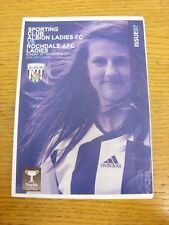 13/11/2011 West Bromwich Albion Sporting Club Ladies v Rochdale Ladies [At Hales