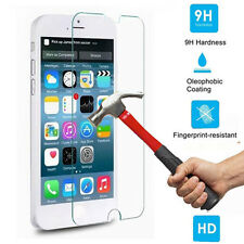For Apple iPhone 4S / 4 100% Genuine Tempered Glass Film Screen Protector Guard