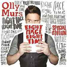 Olly Murs Right Place Right Time CD & DVD (7 EXTRA TRACKS) NEW & SEALED !