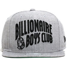 BILLIONAIRE BOYS CLUB NEW ERA BB ARCH SNAPBACK HAT SUPREME CAP BBC GREY/BLACK