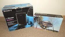 1993 SONY CarDiscman D-802K & SONY Speakers (SRS68) ~ Made in Japan BLACK