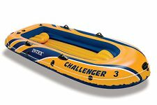 Intex Challenger 3 Inflatable Three-Person Boat Raft | 68369EP
