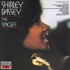 The Singles by Shirley Bassey (CD, Sep-1988, Music for Pleasure) (CD1244)