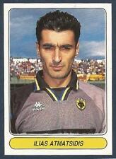 PANINI EUROPEAN FOOTBALL STARS 1997- #001-AEK ATHENS & GREECE-ILIAS ATMATSIDIS