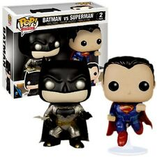 Batman vs Superman-Vinyl personajes-limited metalizado paints-funko pop -2 Pack