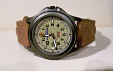 "Ladies ""TIMEX EXPEDITION""  Watch INDIGLO (nite lite) 3ATM Leather band 8"" "" NICE"