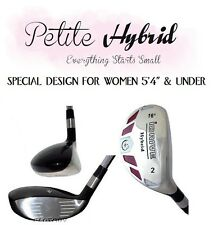 Petite Hybrid #2 iDrive Graphite Ladies Flex Small Short Womens Rescue IronWood