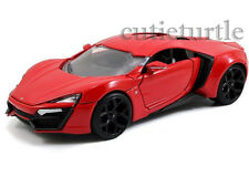 Jada Fast and Furious 7 Lykan Hypersport 1:24 Diecast Model Car 97377 Red