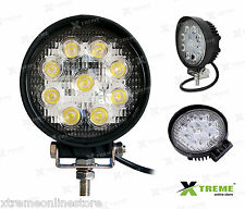 27w 9 Cree LED Slim Fog Off Road DRL Light For Royal Enfield Twin