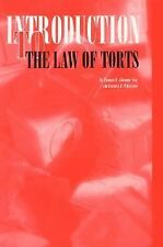 Introduction to the Law of Torts